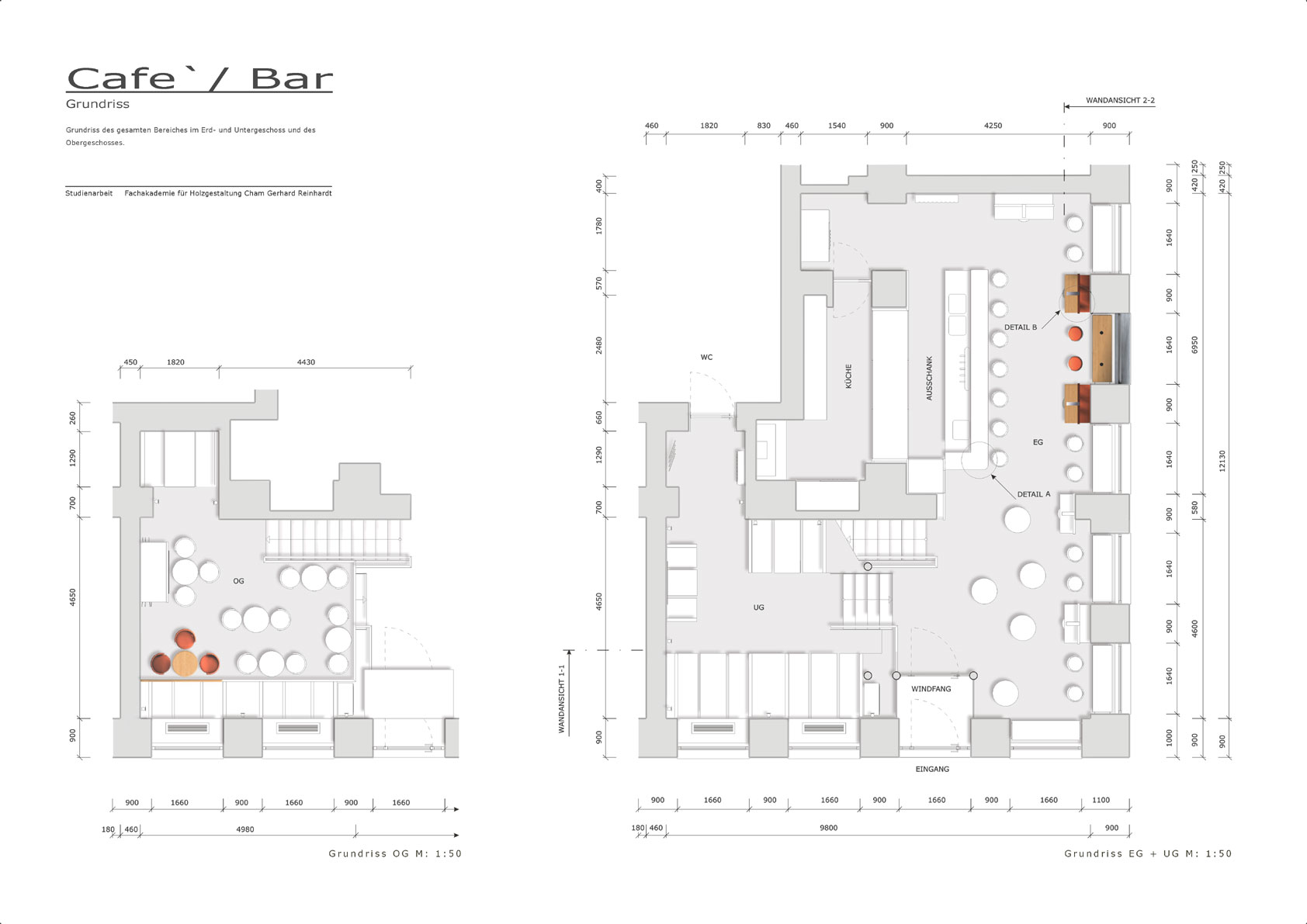 Bar Floor Plan Design